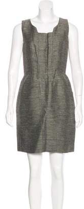 Oscar de la Renta Sleeveless Sheath Dress