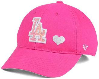 '47 Brand Girls' Los Angeles Dodgers Sugar Sweet MVP Cap $17.99 thestylecure.com