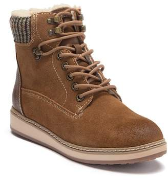 White Mountain Footwear Theo Suede Lace Up Boot