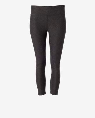 Express Exp Core Cropped Moto Leggings