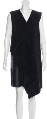Derek Lam Suede Midi Dress