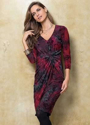 Together Print Devore Dress