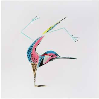 KD Home Flicker Handstand by Birds Doing Yoga (Canvas)