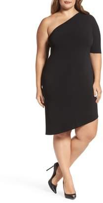 Leota Christina One-Shoulder Dress