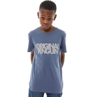 e8b62df6ca Original Penguin Junior Boys T-Shirt Vintage Indigo