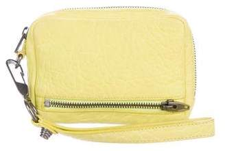 Alexander Wang Leather Fumo Wristlet