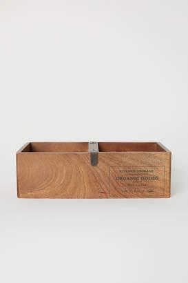 H&M Wooden Storage Box