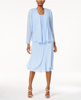 Sl Fashions Sequined Three-Piece Dress Set $129 thestylecure.com