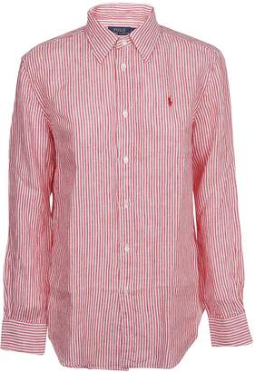 Ralph Lauren Striped Logo Shirt