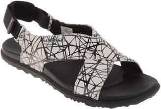 Merrell Leather Backstrap Sandals -Around Town Sunvue
