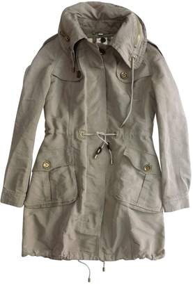 Burberry Khaki Polyester Trench coats