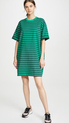 Marc Jacobs The Striped T-Shirt Dress