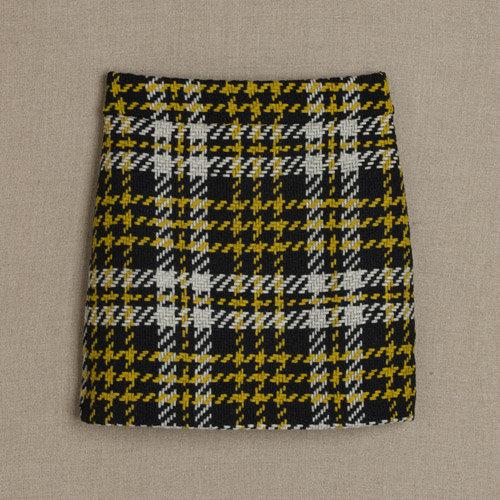 J.Crew Bumble tartan mini