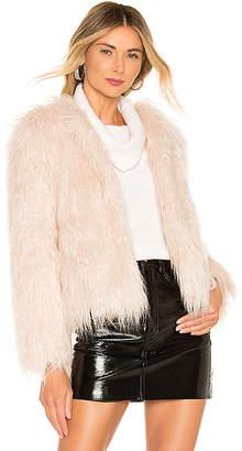 MCGUIRE The Playboy Club Faux Fur Coat