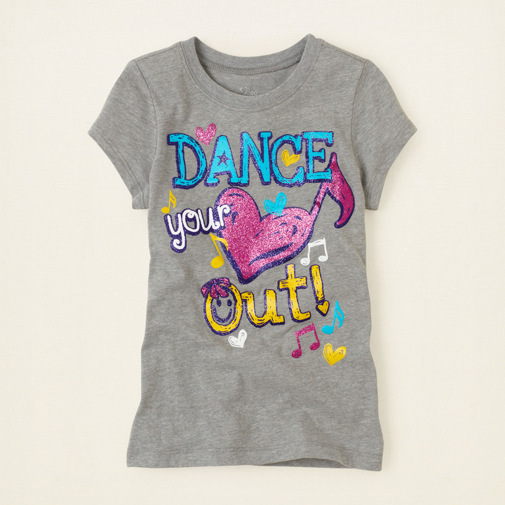 Children's Place Dance graphic tee