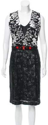 Clements Ribeiro Devore Midi Dress w/ Tags