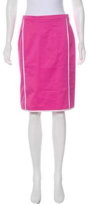 Oscar de la Renta Structured Skirt Suit