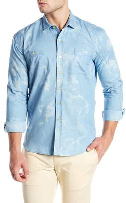 Parke & Ronen Lightweight Denim Slim Fit Shirt