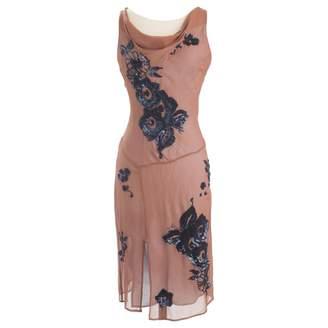 Antik Batik Brown Silk Dresses