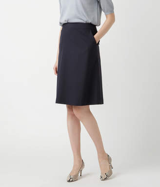 NEWYORKER women's 【夏新作】【ウォッシャブル】コードストライプ Aラインスカート