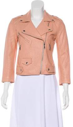 Rebecca Minkoff Leather Moto Jacket