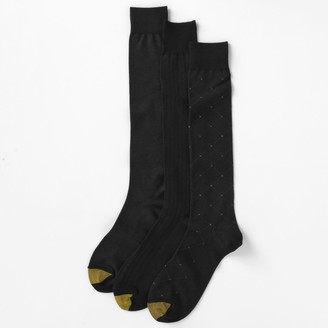 Gold Toe Goldtoe Men's GOLDTOE 3-pk. Over-the-Calf Dress Socks