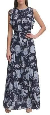 Tommy Hilfiger Afordite Floral A-Line Dress