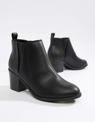 Office Heeled Chelsea Boots