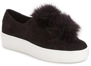 Women's Steve Madden 'Bryanne' Puffball Platform Sneaker $89.95 thestylecure.com