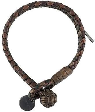 Bottega Veneta Intrecciato woven bracelet