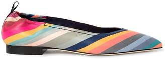 Paul Smith swirl Print lima Leather Pumps