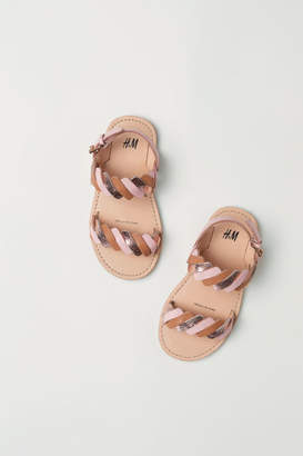 H&M Leather Sandals - Pink