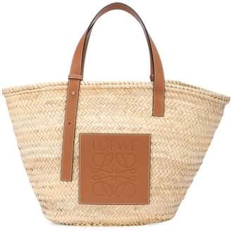 Loewe Raffia straw bag