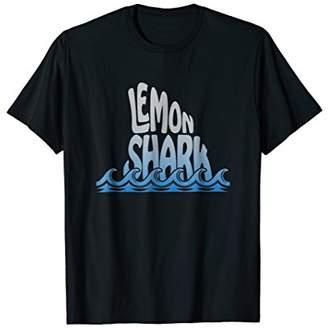 Lemon Shark Fin Trendy T-Shirt Fishing Design