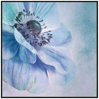 United Artworks Shades Of Blue Canvas Print With Floating Frame