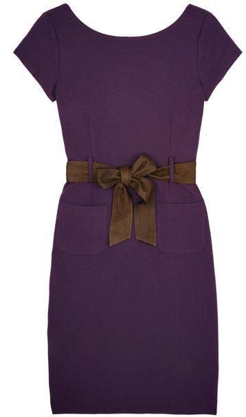 Theory Purple Sloane-X Dress