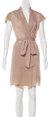 L'Agence Silk Belted Dress w/ Tags