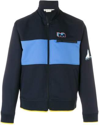 Marni logo track jacket