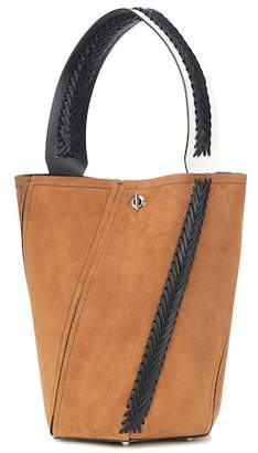 Proenza Schouler Hex Medium suede bucket bag