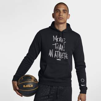 """Nike LeBron """"More Than An Athlete"""" Men's Pullover Hoodie"""