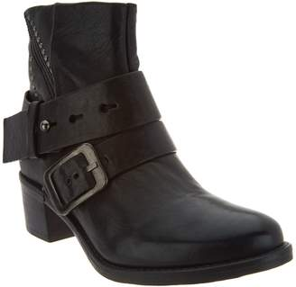 Miz Mooz Leather Ankle Boots w/ Stud Details - Faithful