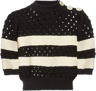 Sonia Rykiel Sailor Striped Knit Top
