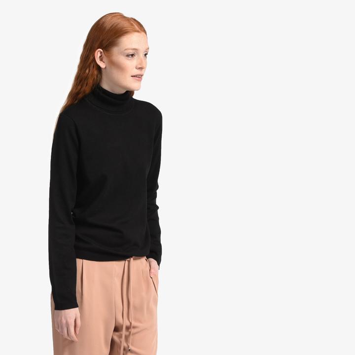 Grace Women's Soft Turtleneck Sweater