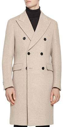 Reiss Carlton Double-Breasted Overcoat