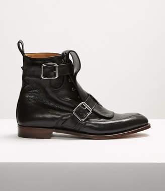 Vivienne Westwood Seditionary Punk Boots Black