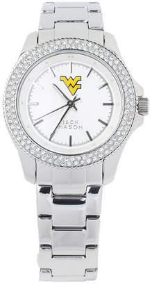 Jack Mason Women's West Virginia Mountaineers Glitz Sport Bracelet Watch