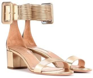 Aquazzura Casablanca leather sandals