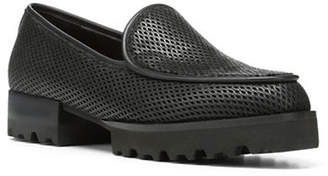 Donald J Pliner Round Toe Leather Loafers