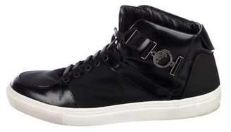 Versace Unique High-Top Sneakers