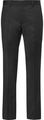HUGO BOSS Grey Gibson Slim-Fit Virgin Wool Suit Trousers